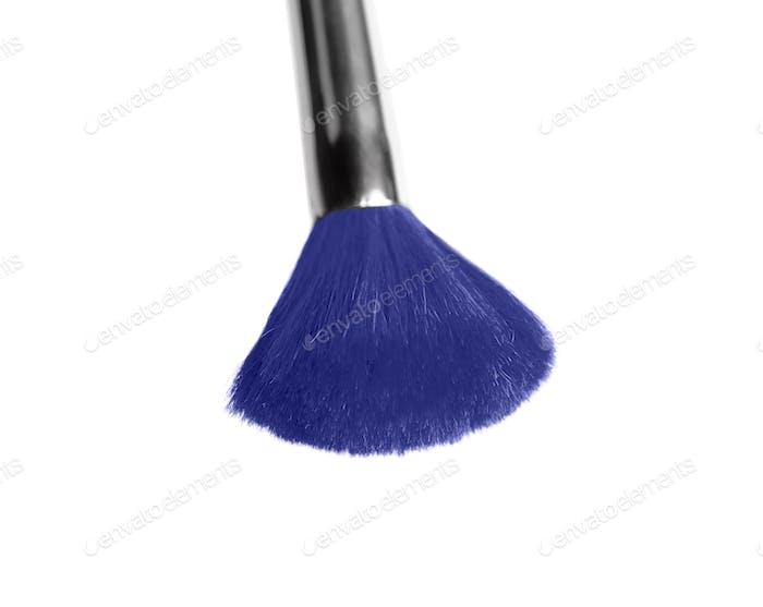 Professional makeup brush isolated on white background
