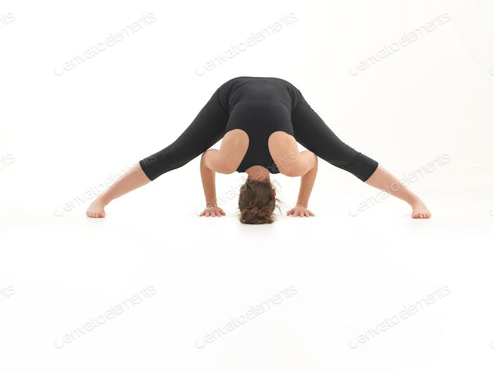 yoga practice demonstration