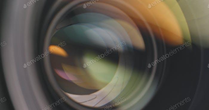 Lente de cámara profesional