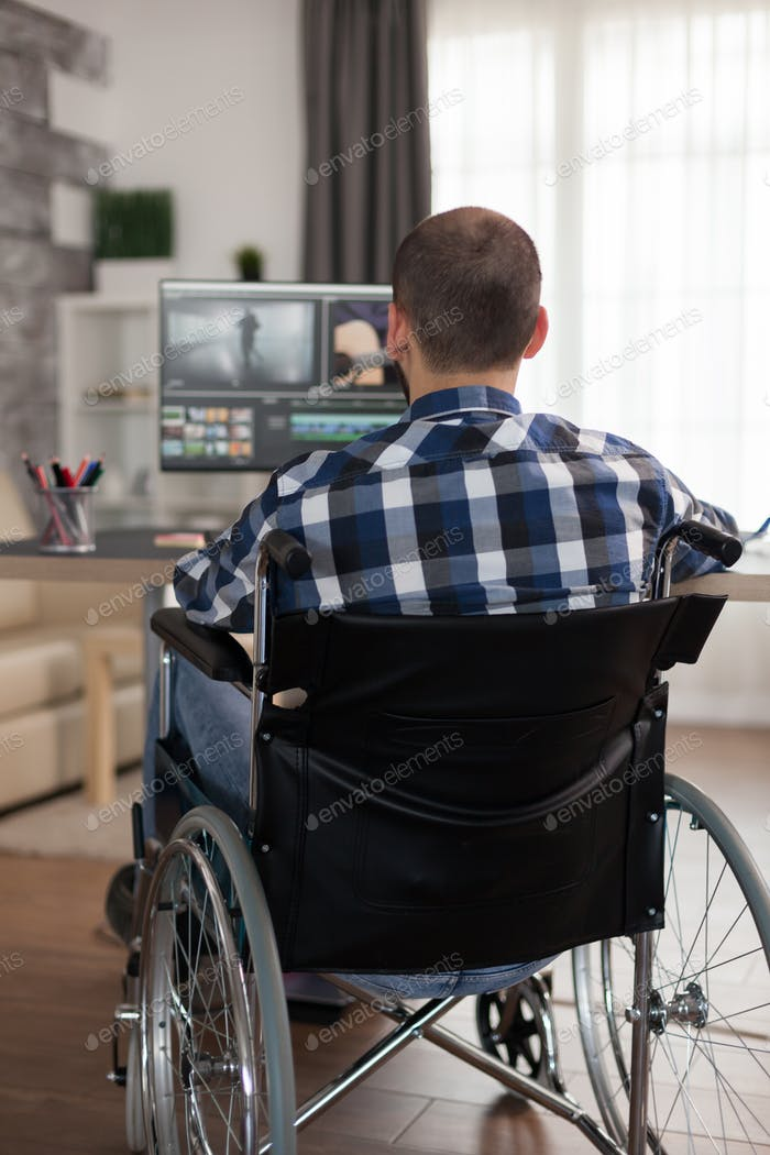 Disabled video editor