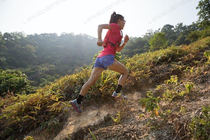Running to peak