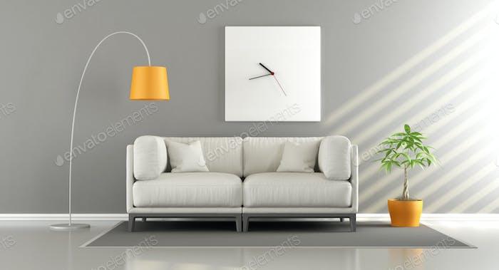 Habitación Moderno con sofá