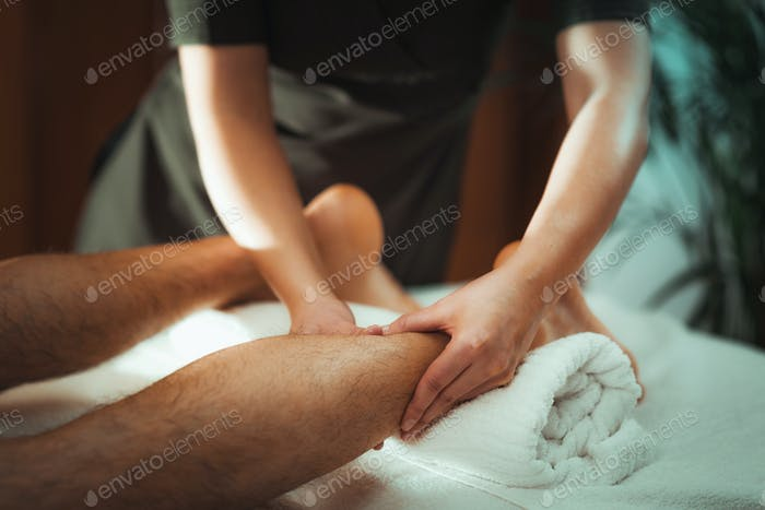 Thumbnail for Legs Sports Massage Therapy