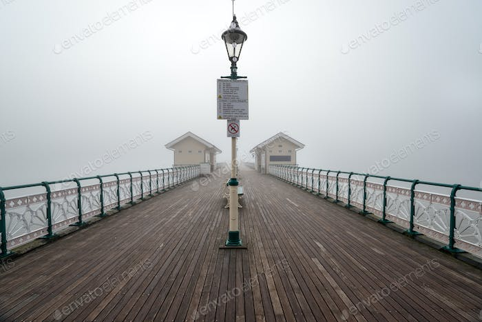 Foggy Penarth Pier