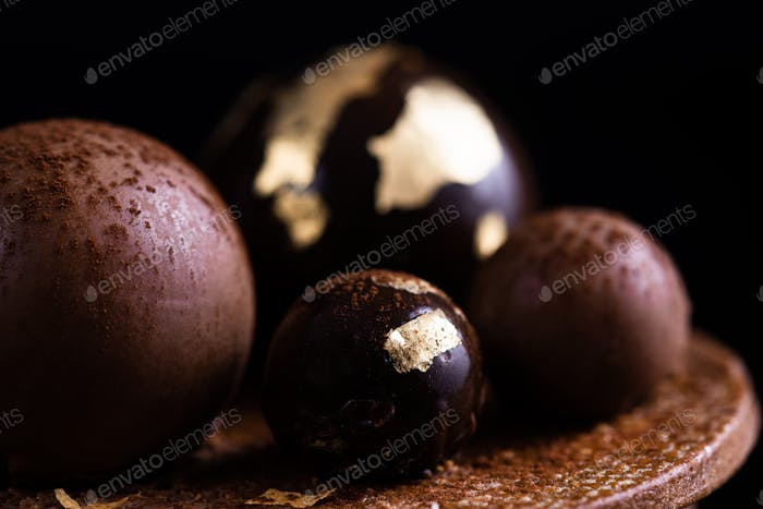 Thumbnail for Handmade Patisserie Confection. Creative Art of Confectionery. Close Up Detail View