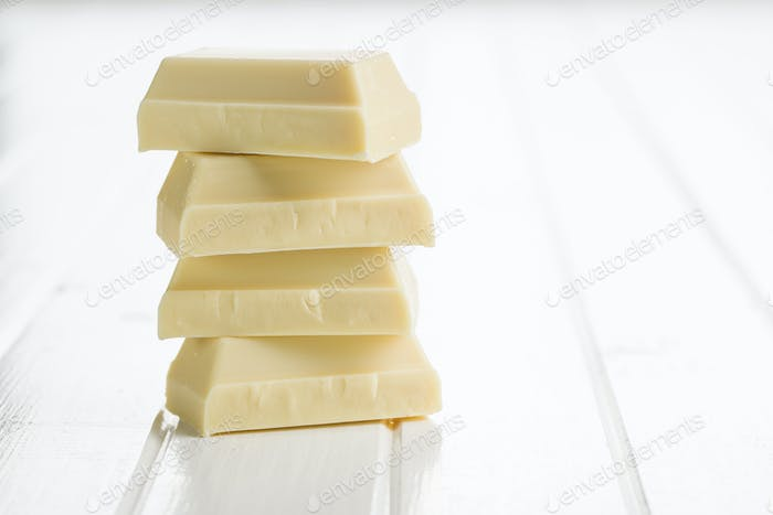 Sweet white chocolate.