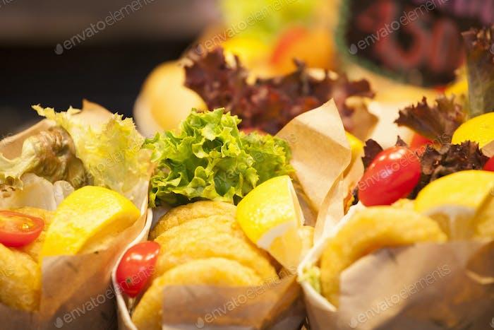 Burrito stall