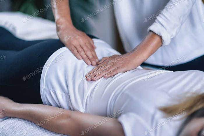 Reiki Lower Back Massage