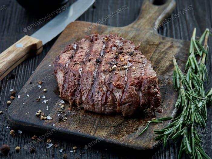 gegrilltes Rinderfilet Steak Fleisch