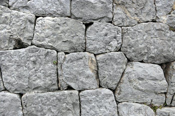 Textur der alten Steinmauer