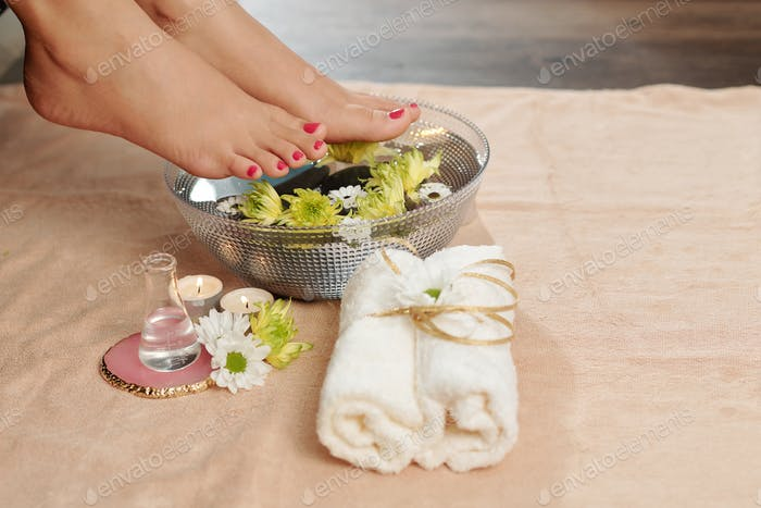 Hydrating spa procedure