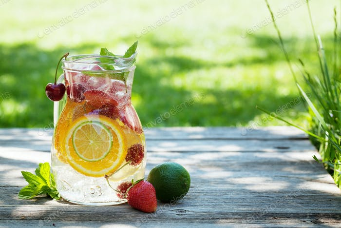 Thumbnail for Homemade lemonade or sangria