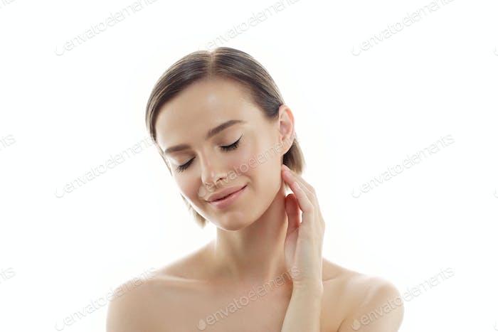 Чистая свежая кожа женская красота