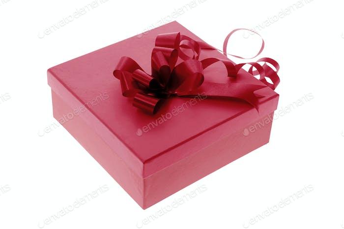 Geschenkbox mit Band