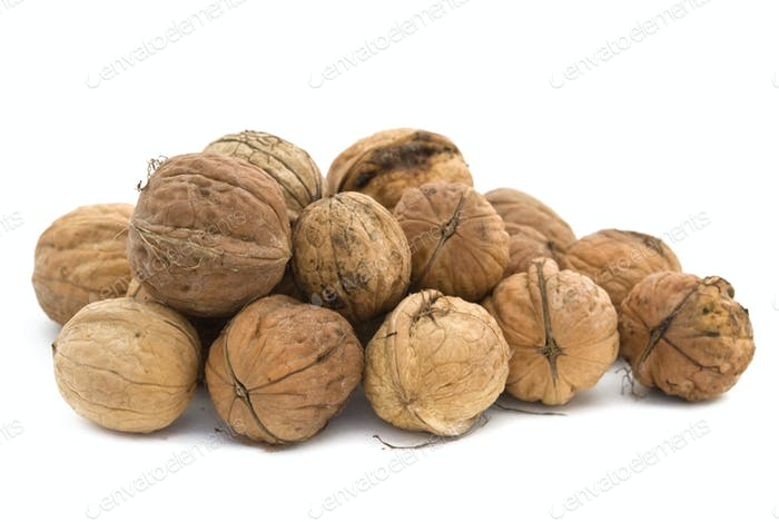 walnuts heap