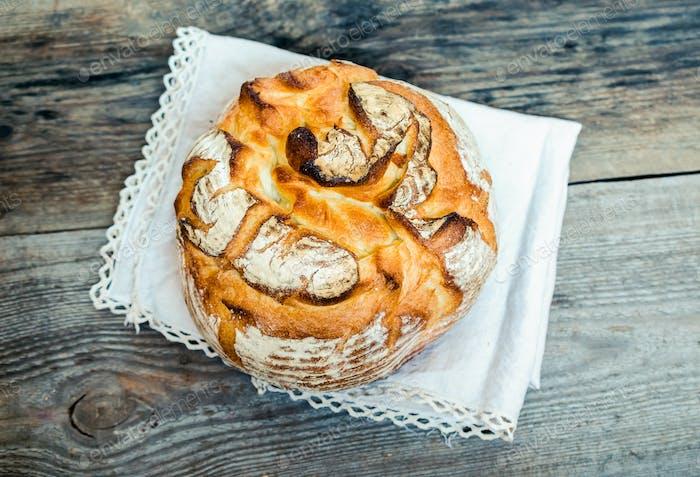 Volcano bread