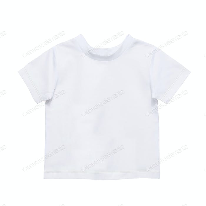 Kinder T-Shirt isoliert