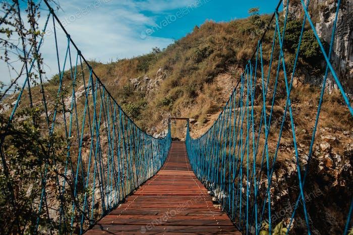 Hanging Rope Bridge