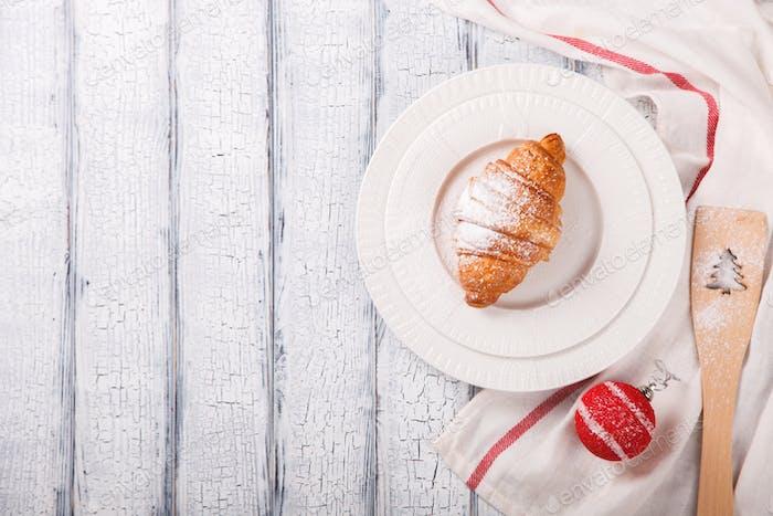 Christmas Pastries Croissant