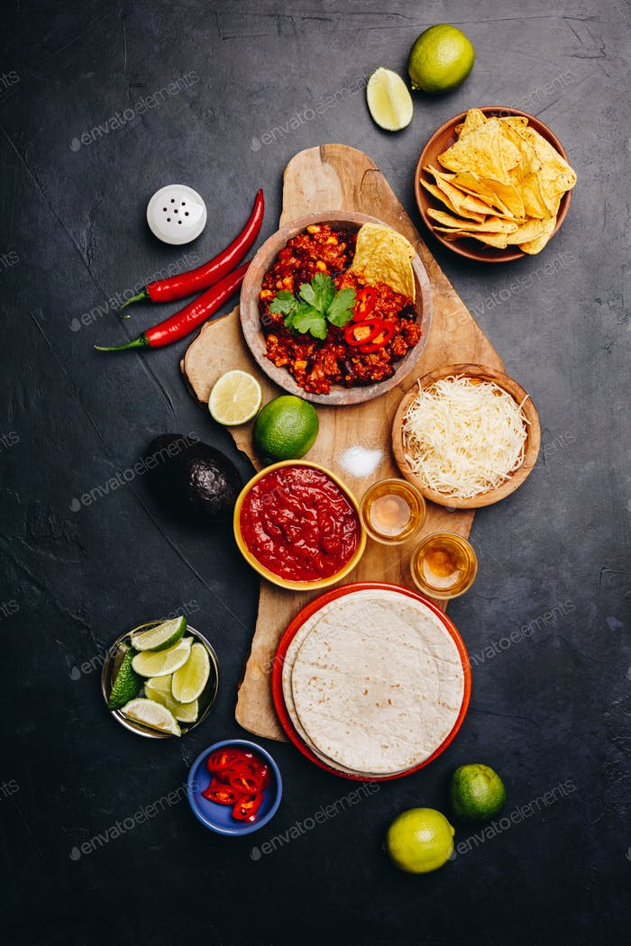 Mexican food concept
