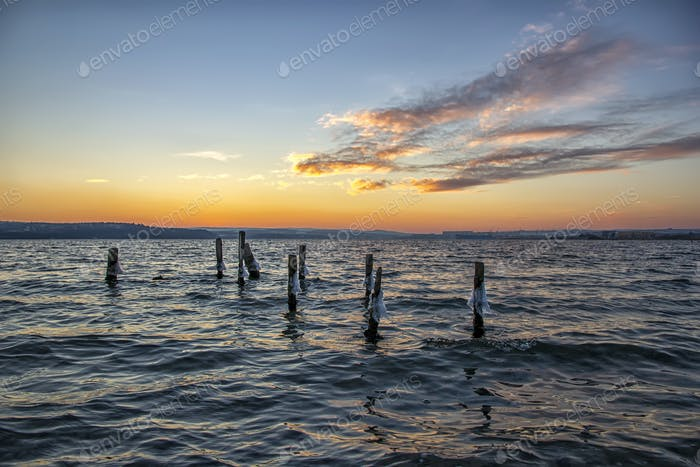 jetty pillars
