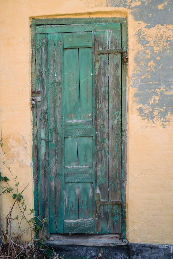 Old door in Denmark