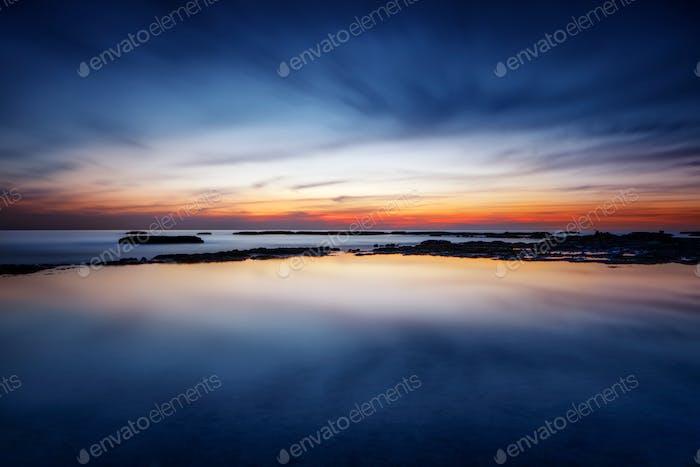 Erstaunliche Meereslandschaft