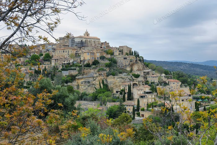 medieval village of Gordes in France