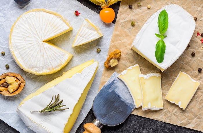Brie and Camembert Soft Cheese