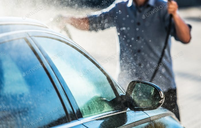 Nettoyage de lavage de voiture