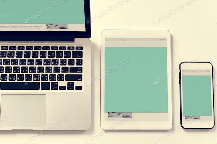 Digital device eletronic networking media