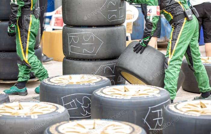 Used Racing Car Tires