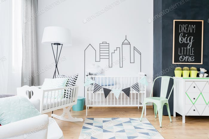 Scandinavian inspirations making the baby room cosy and stylish