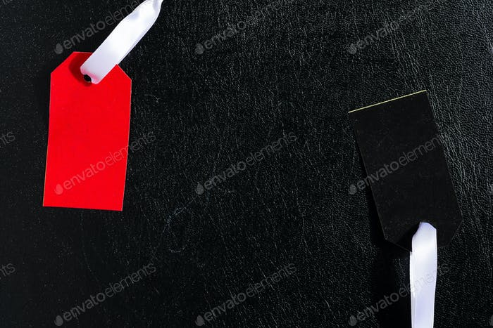 Simple Tag Mockup for presenting branding or logo concepts in fashion industry