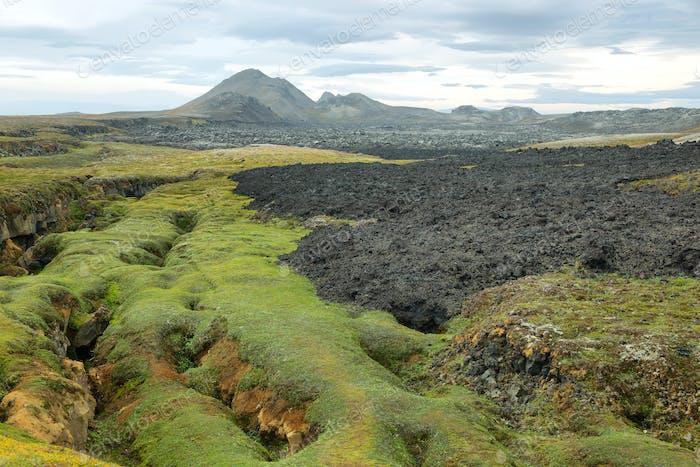 Krafla volcanic area