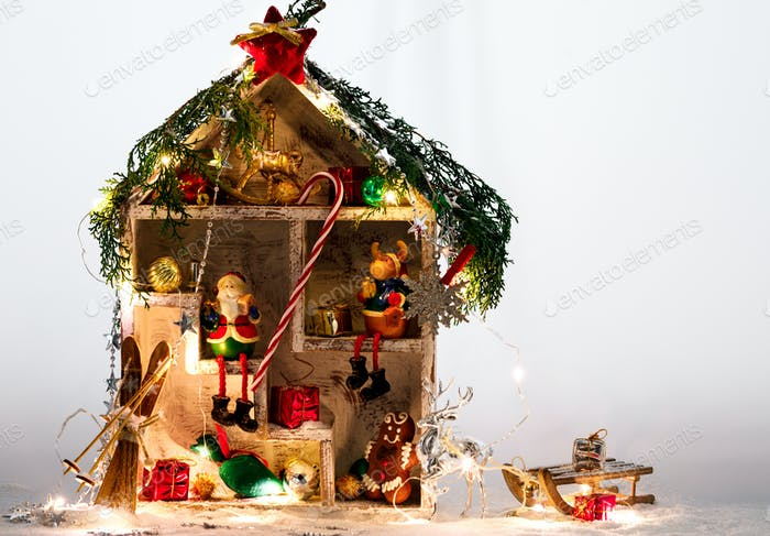 Christmas Fabulous wooden House