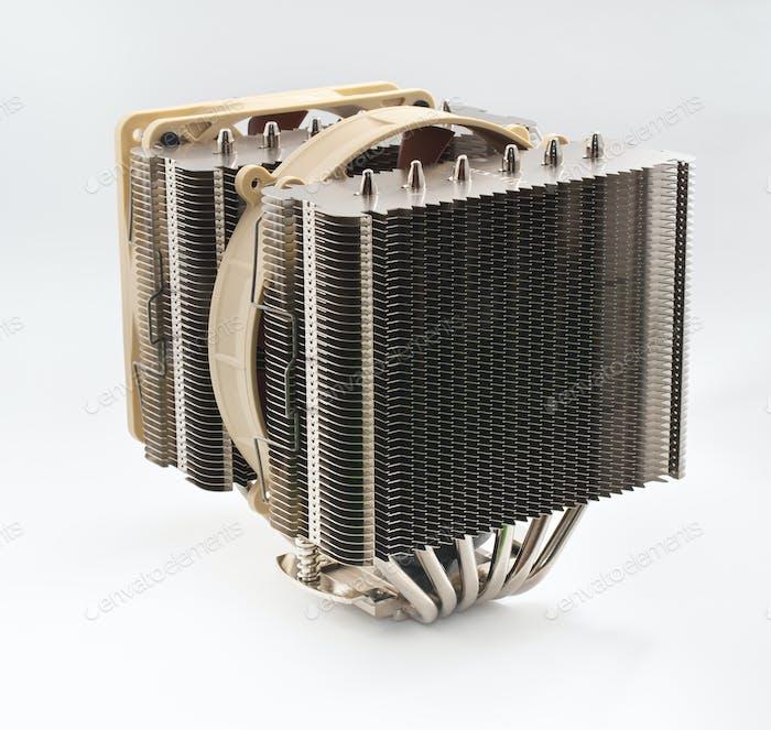 Cooler computer fan equipment.