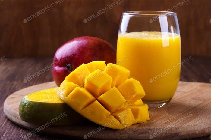 Frischer Mangosaft