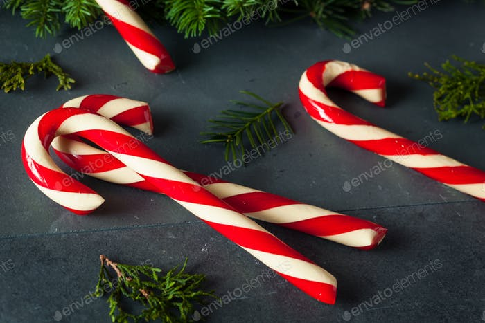Festive Homemade Candy Canes