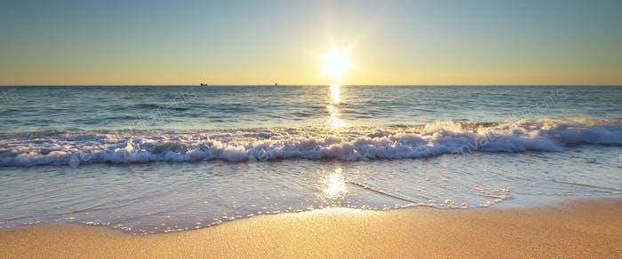 Summer word on the sea