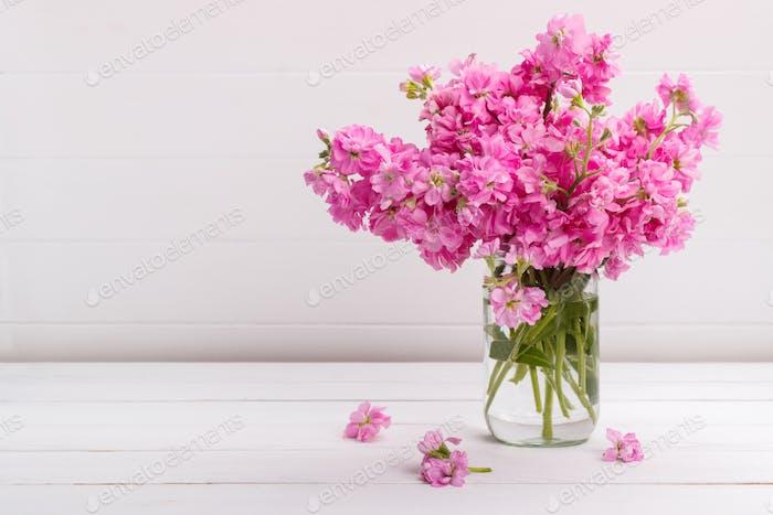 Bouquet of flowers matthiola