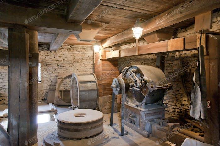Old Windmill Interior