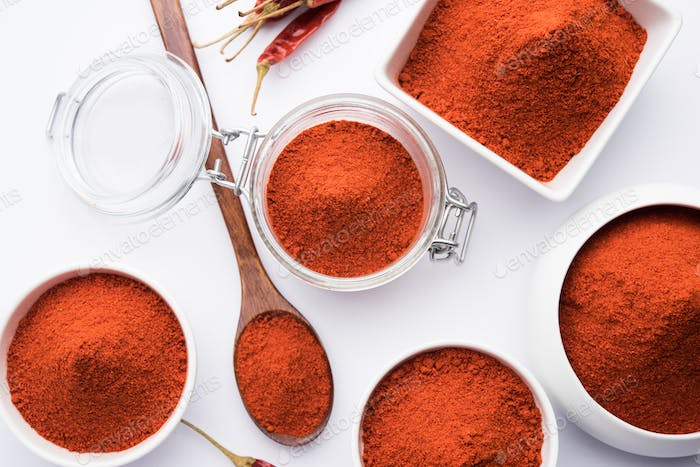 Red Chilli With Powder