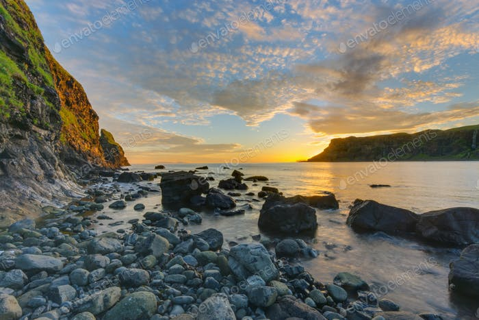 Talisker Bay on the Isle of Skye