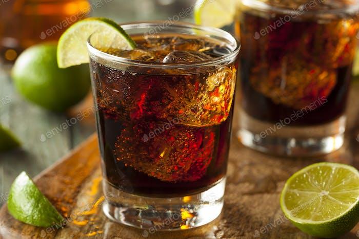 Rum and Cola Cuba Libre