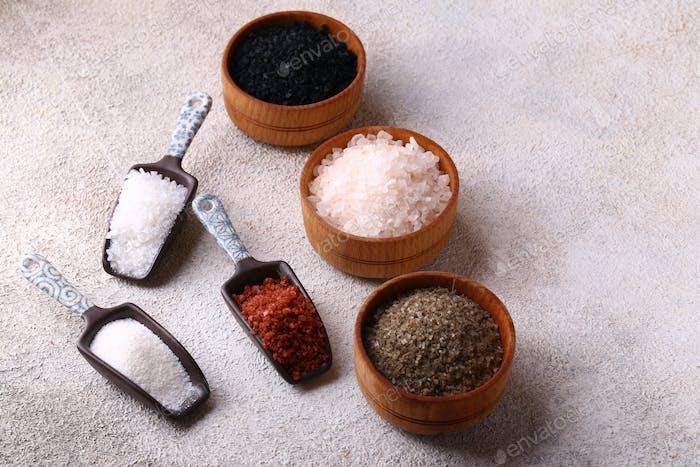 Colored Salt for Food