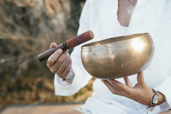 Sound Healing, Tibetan Singing Bowl