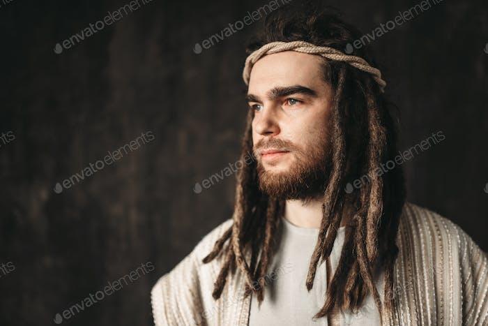 Porträt des Menschen im Bild Jesu Christi