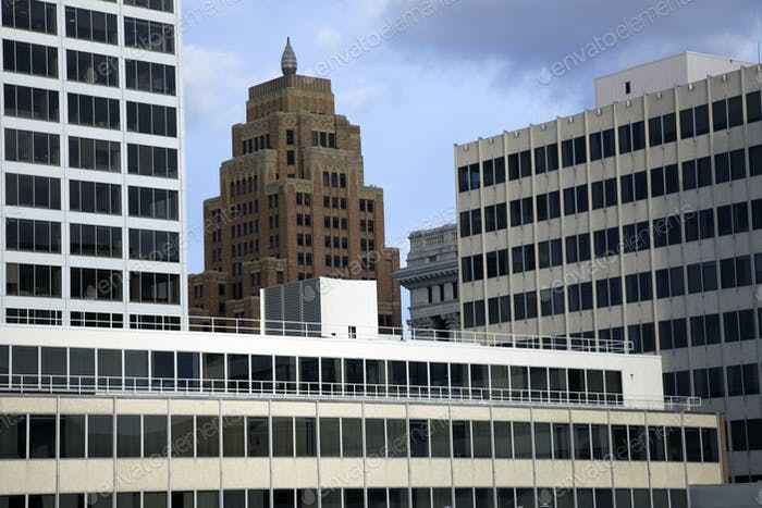 Windows in downtown Milwaukee