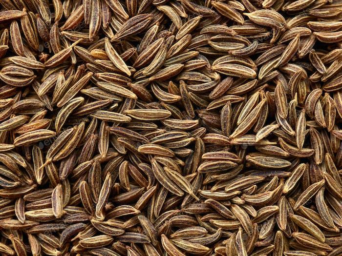 cumin seeds background macro